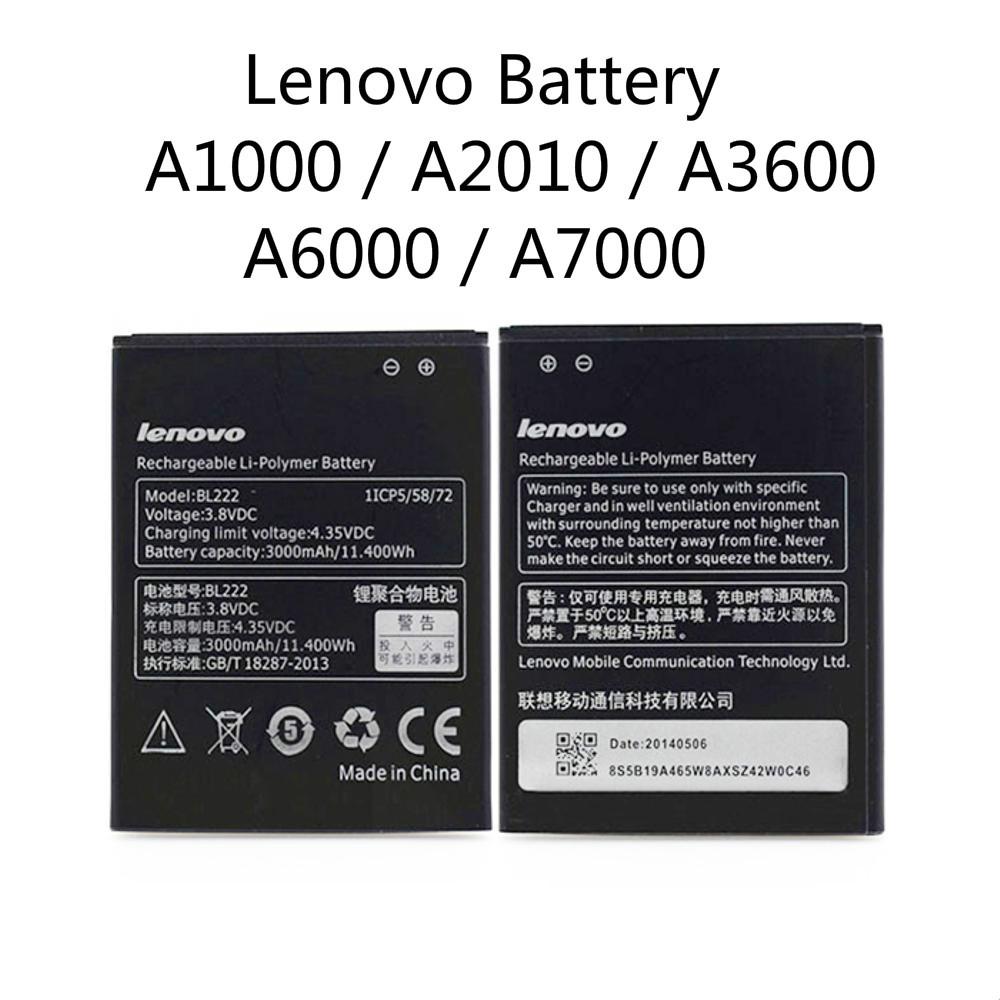 Lenovo A1000 / A2010 / A3600 / A6000 / A7000 Original Quality Replacement  Batter