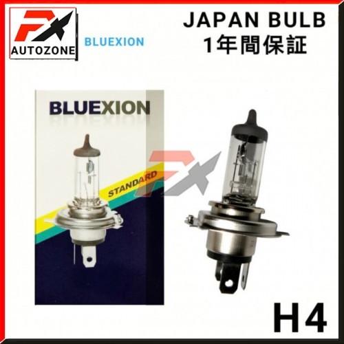 Favourite X - BLUEXION H4 12V 60/55W Halogen Light Bulb 1Pcs - JAPAN BULBS -