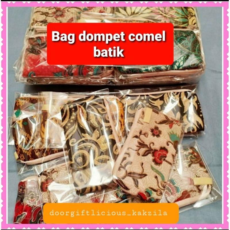 Bag dompet batik#BATIKPURSE #DOORGIFT*