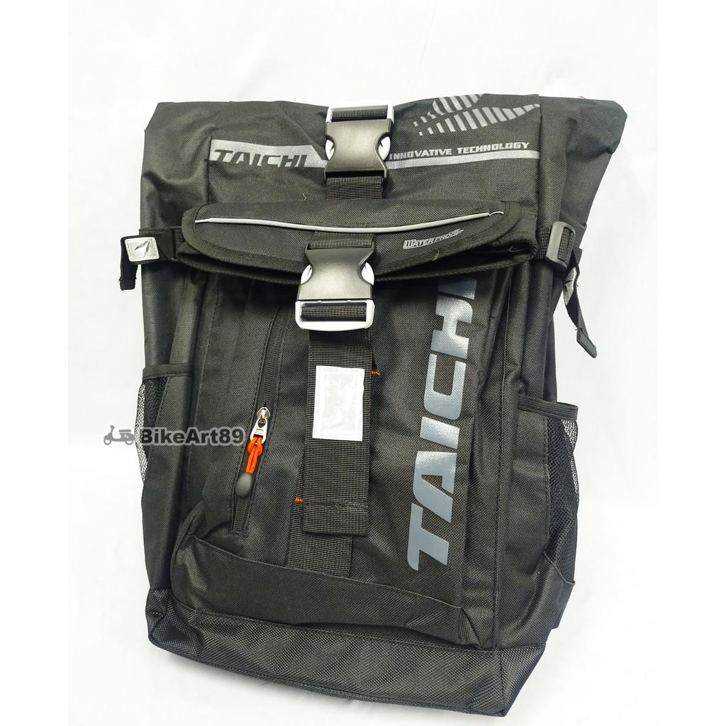 Bag TAICHI RSB274 Full Waterproof Riding Backpack Rider Motor BAG TAICHI 25 Liters bag galas belakang
