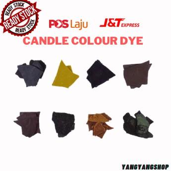 DIY Candle Dye Paints Soy Wax Candle Oil Colour Coloring Dye Making 蠟燭顏料