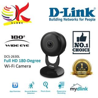 D-LINK IP CAMERA WI-FI N HD 720P 120 DEGREE (DCS-936L)