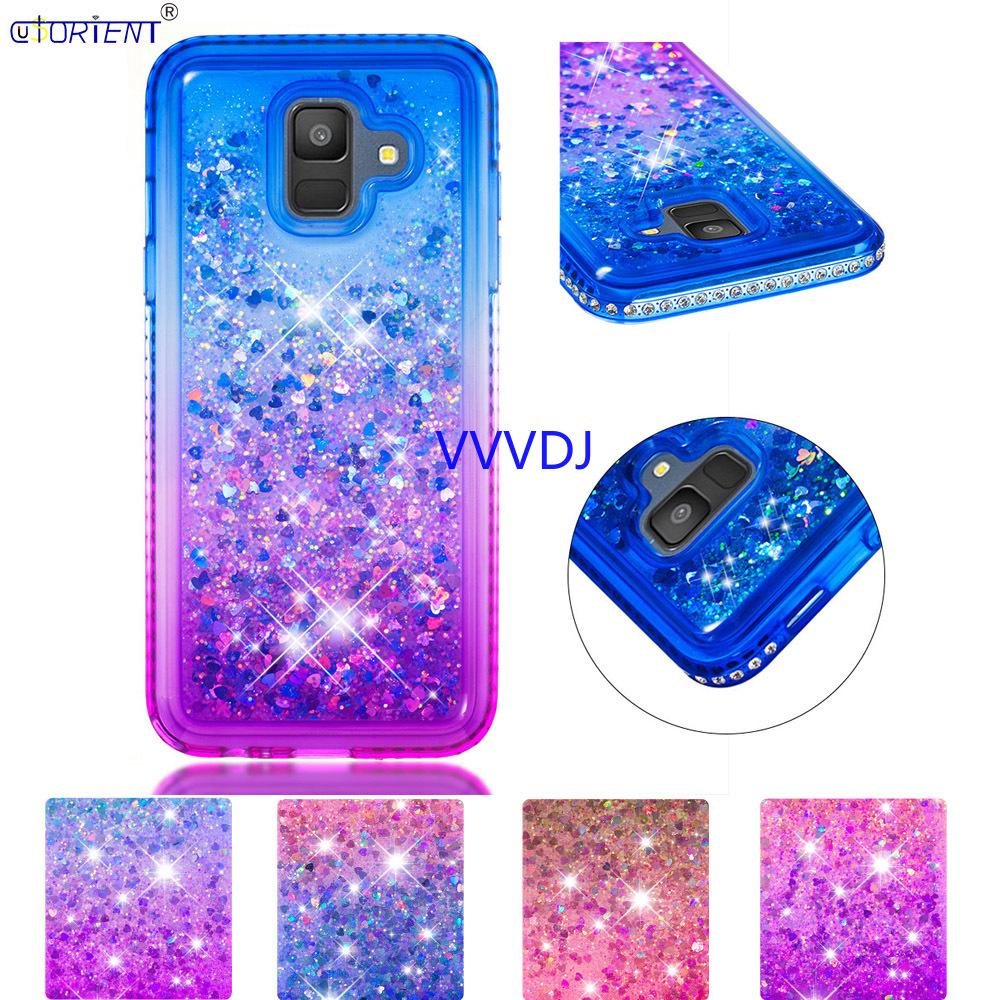 Glitter Bling Case for Samsung Galaxy A6 PLUS Woven Diamond