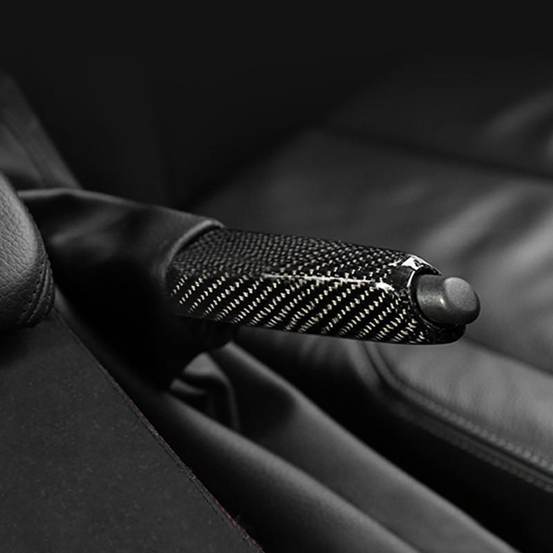 M Power Handbrake Brake Handle Cover Aluminum Alloy For BMW 3 X1 E90 F35 F30 E39