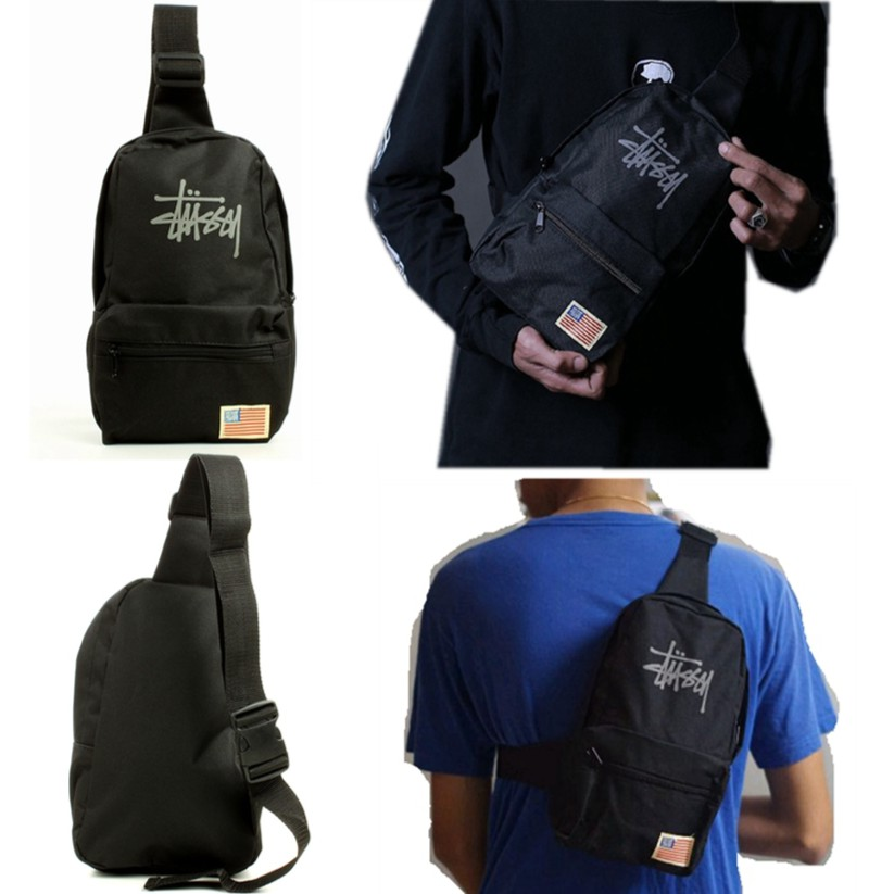 Stussy Single Side Unisex Backpack from Japan Appendix  f1baf1cae74c7