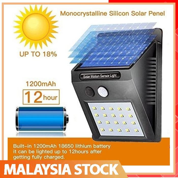 🔥20/30/40 Lights🔥 LED Waterproof Outdoor Solar Night Light Motion Sensor  Auto