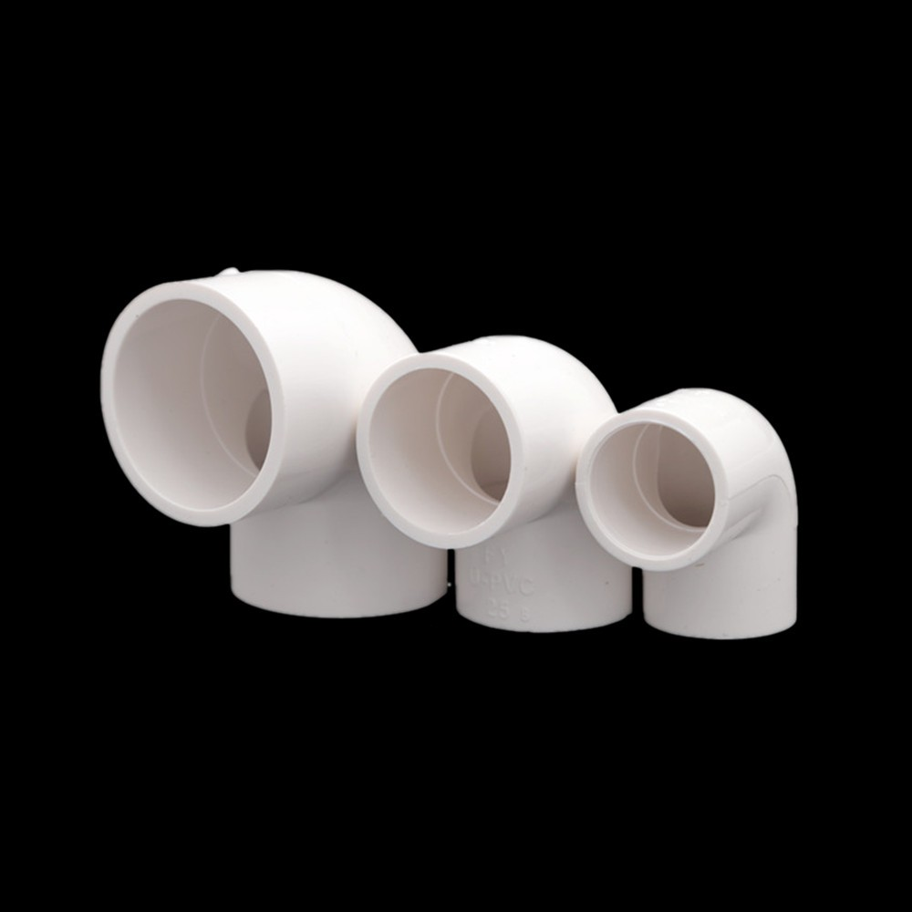 50mm Inner Dia PVC-U 45 Degree Elbow Water Pipe Fittings Tube Connector Coupler