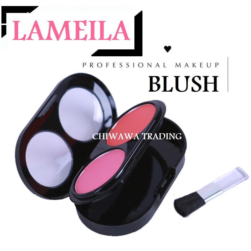 Blush Palette Beauty Make up Cosmetics Sleek Powder + Free Brush