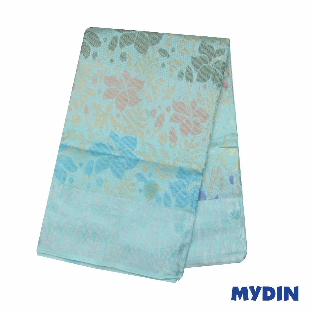"""Men Sampin - Multicolor on Light Blue with Designs (2.25m X 36"""") 0819SRLHDD02 #Raya"""