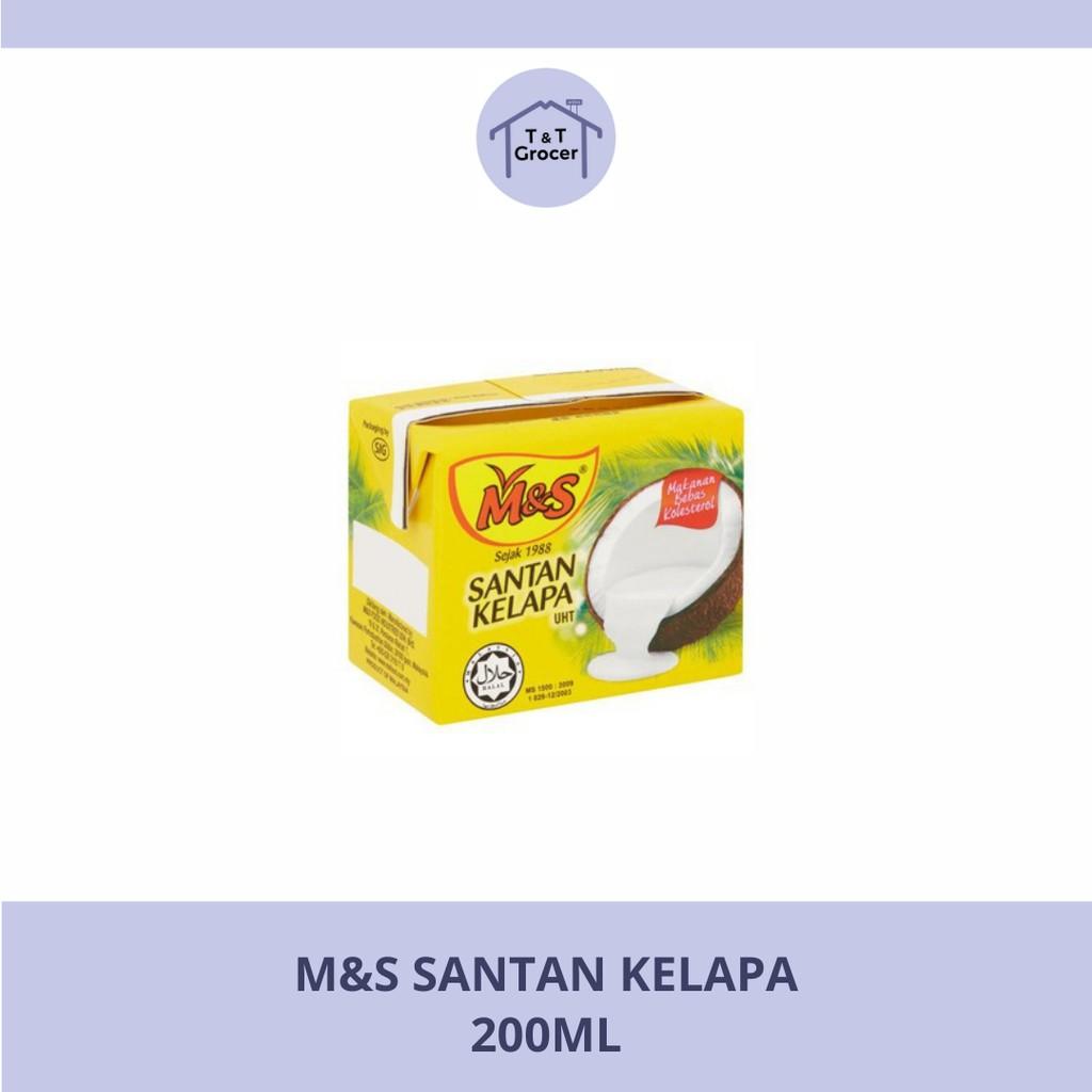 M&S Santan Kelapa (200ml)