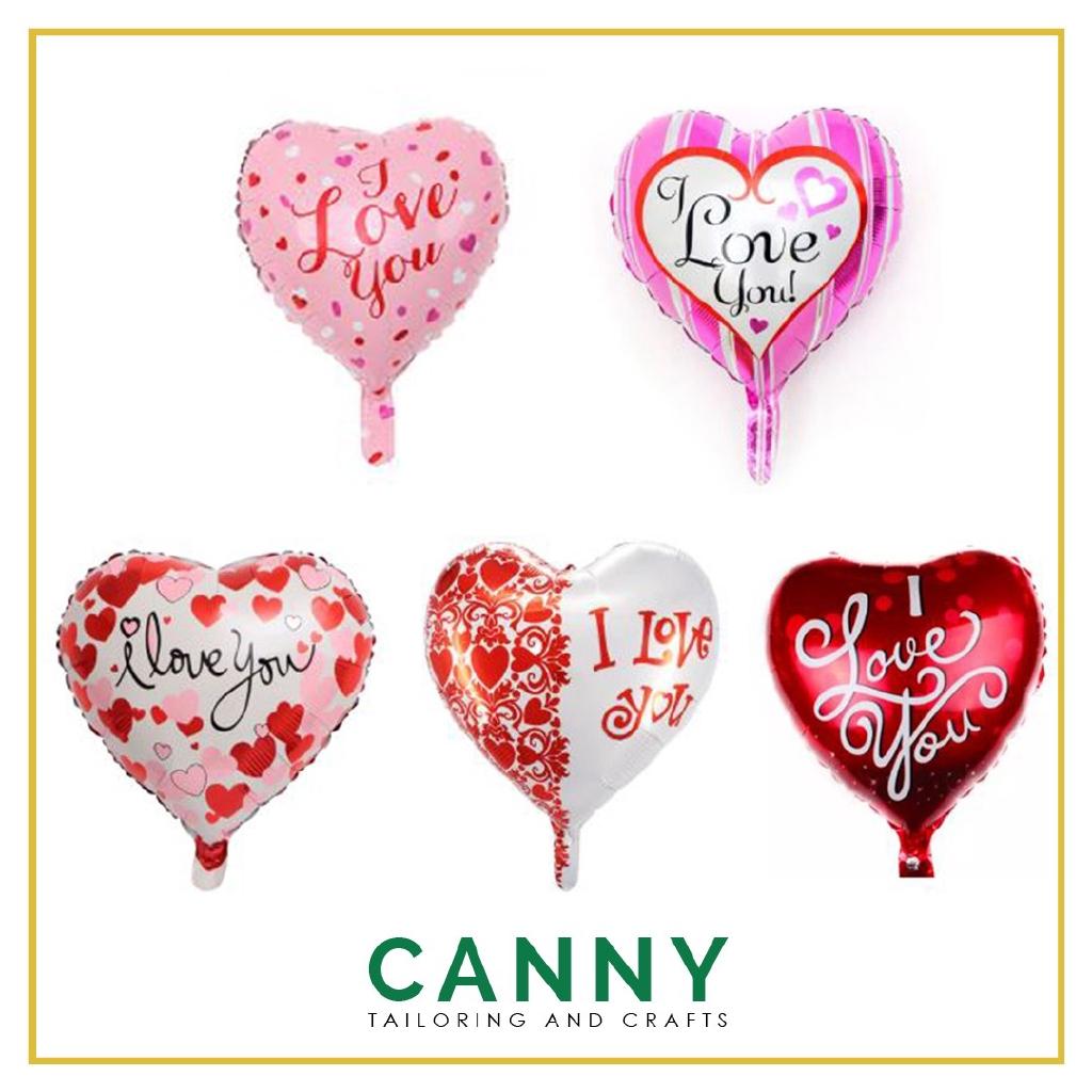 "18"" Foil Balloon I Love You / Happy Valentines Day 1 pcs / Belon Foil 18"" I Love You 1 pcs"