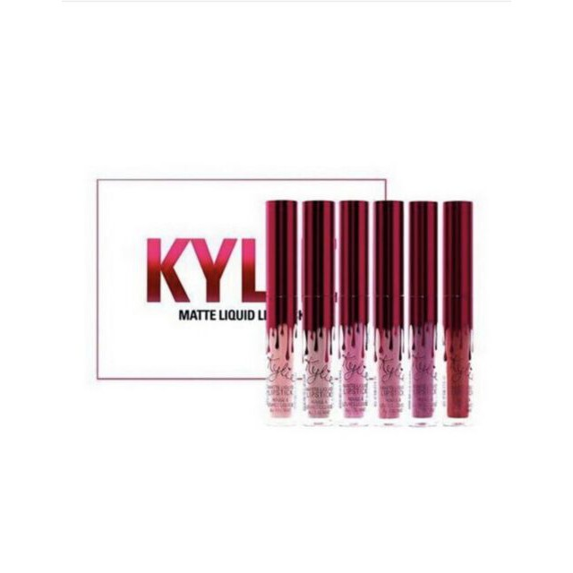 Kylíe Cosmetics VALENTINE Mini Kit Matte Liquid Lipsticks 6 in 1