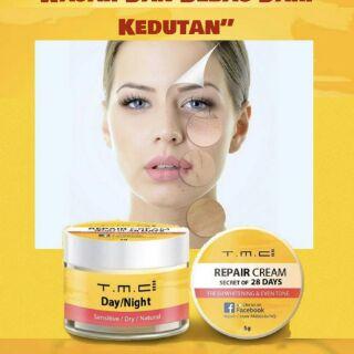 TMC Repair Cream Day /night untuk jerawat jeragat kulit ...