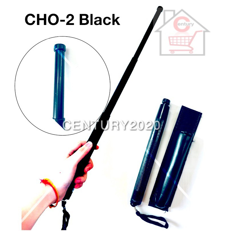 Three Sections Telescopic Walking Sticks Portable Retractable Outdoor with Storage Bag Camping Tools