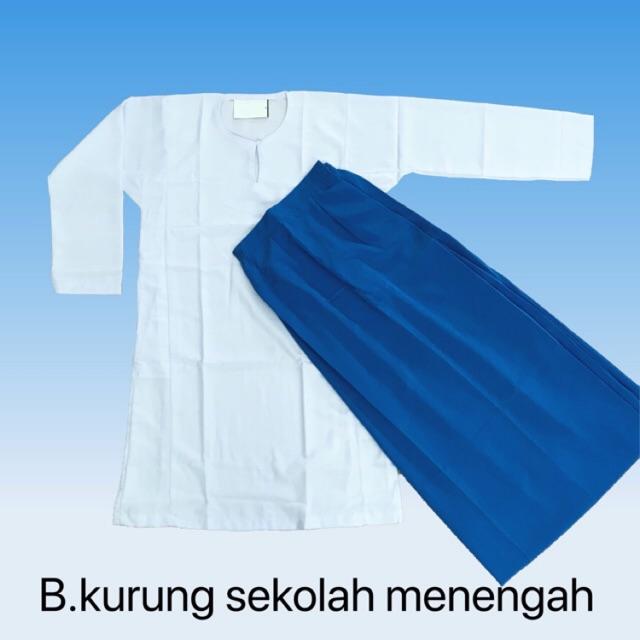 Baju sekolah putih Kain koshibo bernila  081456ff33
