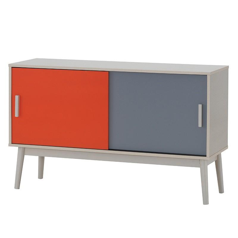 Furniture Direct HAMINA SCANDINAVIAN 4FT COMPACT SIDEBOARD