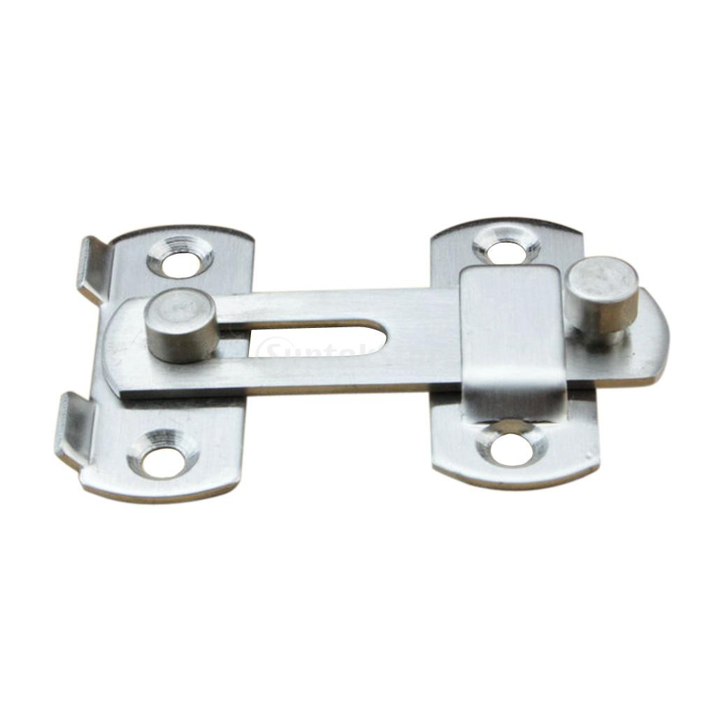 Slide Bolt Bathroom Toilet Cabinet Cupboard Shed Door//Lock//Latch