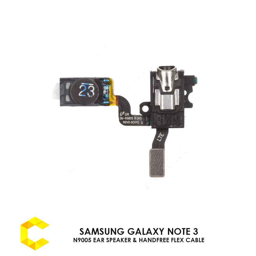 SAMSUNG GALAXY NOTE 3 N9005 EAR SPEAKER & HANDFREE EARPHONE FLEX CABLE