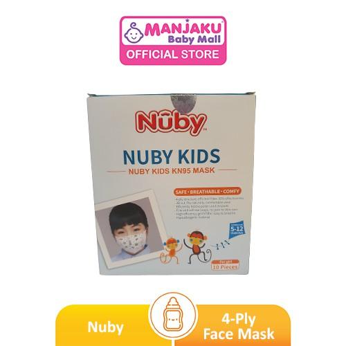 Nuby 4-Ply 3D Kids Mask (Gril) - Princess (10pcs)