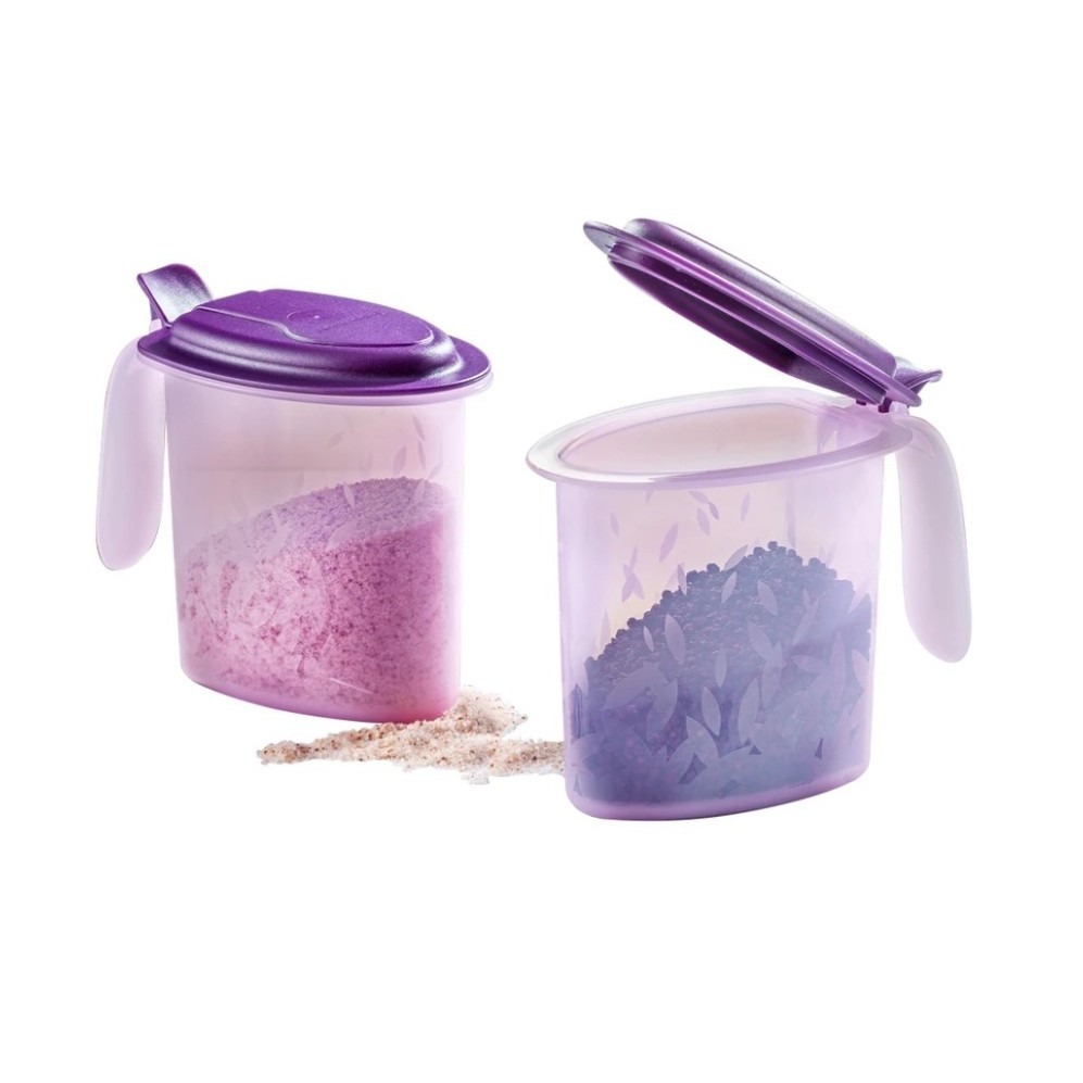 Tupperware Salt N Spice (2) 500ml [Easy Pouring & store New color