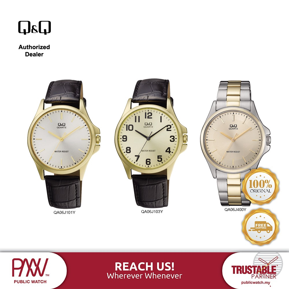 Q&Q QA06 Analogue Watches (100% Original & New)