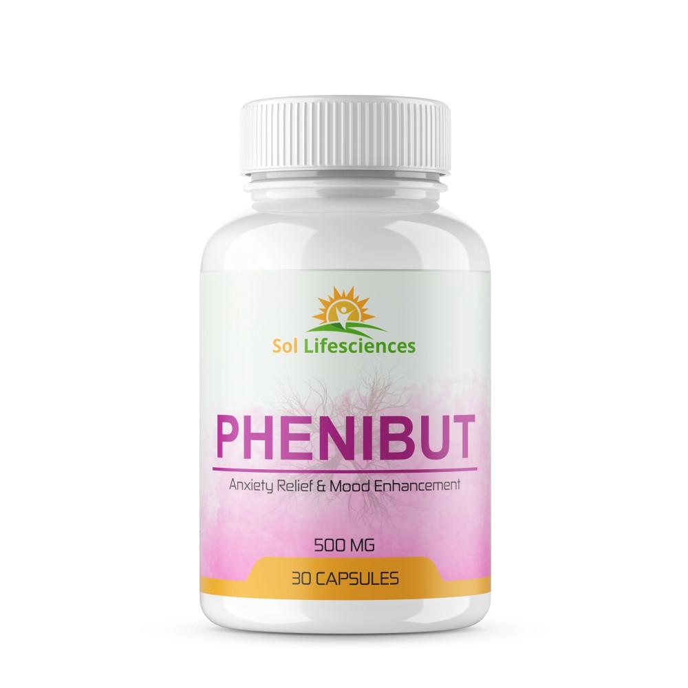 Nootropic (Phenibut 500mg) 30 capsules/bottle