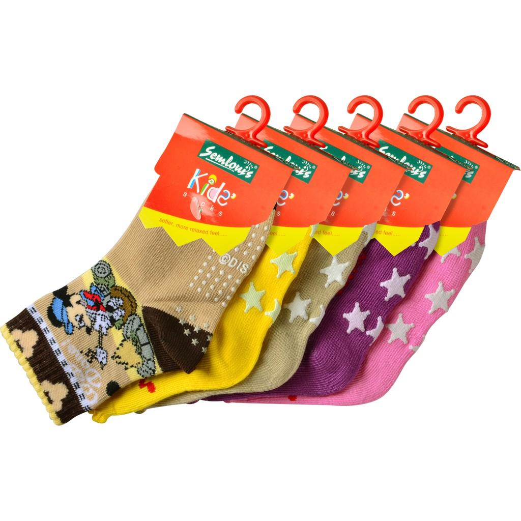 Baby Socks Anti Slip Boy Girl Cotton Newborn Infant Toddler Kids Soft - Mickey Mouse Cartoon Design