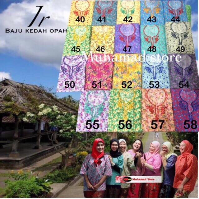 Part 3 Ir Baju Kurung Kedah Opah