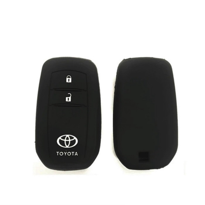 MALAYSIA] COVER KUNCI Toyota Hilux Revo & All-New Innova 2016-2019 Keyless Remote Silicone Car Key Cover