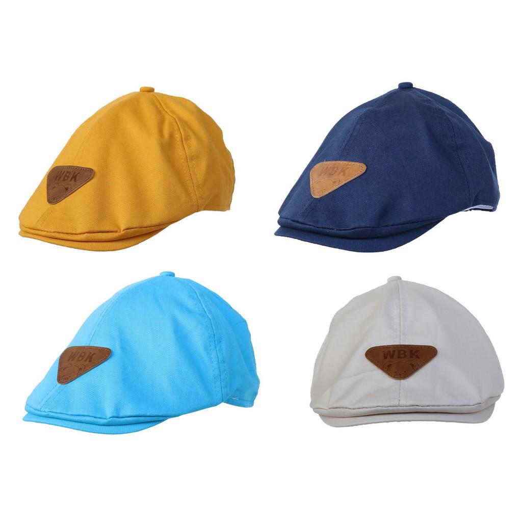 1b58d7c5d COMVIP Kids Childrens Beret Derby Tweed Flat Cap Hunting Shooting Hat