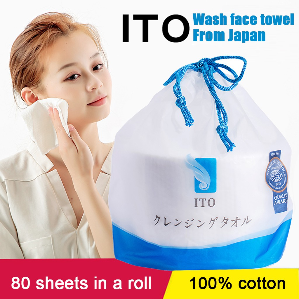 Ready Stock】Japanese ITO Disposable Washing Towel facial towel ...