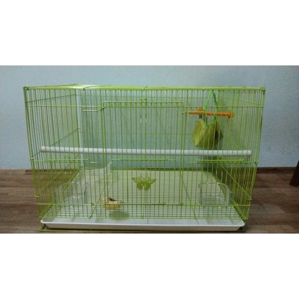 (SBC-118) Bird/ Sugar Glider/ Rabbit/ Iguana/ Chicken/ Guinea Pig Cage, 1.5 ft long, 47cm x 35cm x 33cm | Sangkar Burung