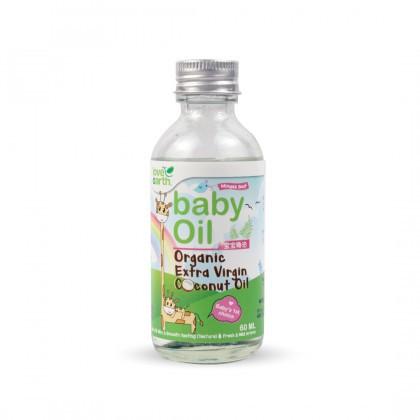 Love Earth Organic Baby Coconut Oil (Extra Virgin) 60ml 乐儿有机冷萃取初榨椰子油 60毫升 (瓶)