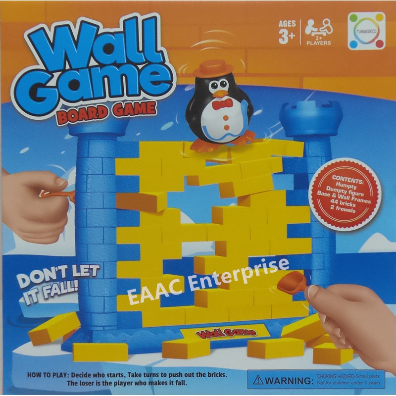 Penguin Wall Game Family IQ Board Game - A toy for Kids