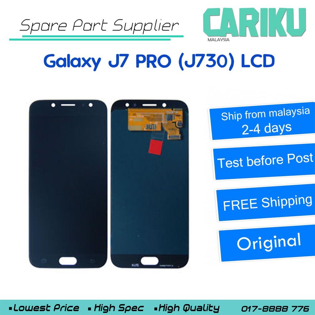 Galaxy J7 PRO J730 Original LCD Digitizer Touch Screen Replacement !! CARIKU