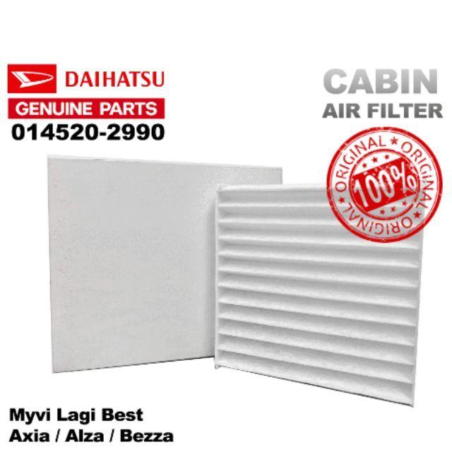 AIR COND CABIN FILTER DAIHATSU PERODUA MYVI LAGI BEST /MYVI NEW /ALZA /AXIA /BEZZA