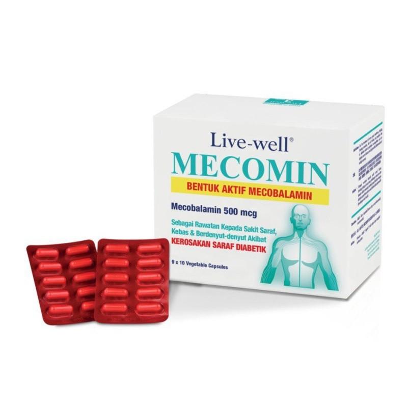 Live-well Mecomin 60\'s / 2x90\'s+60\'s (Vitamin B12)