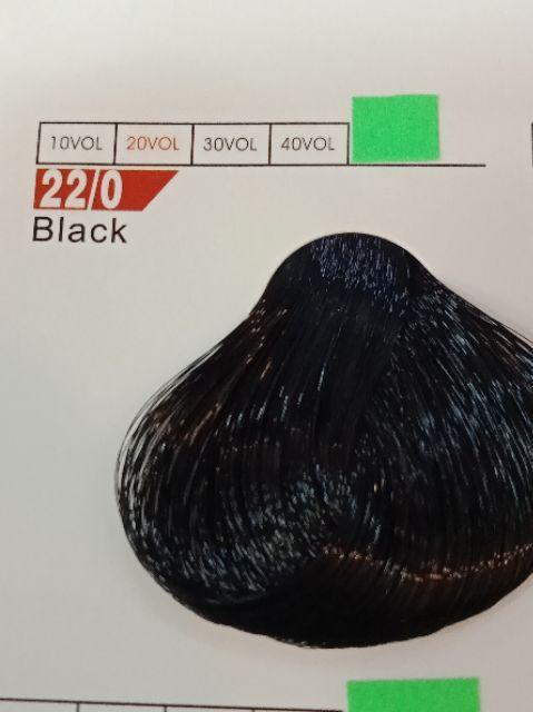 Fabaole color (Black. 22/0)100ml foc peroxide cream 100ml (Black. 22/0)