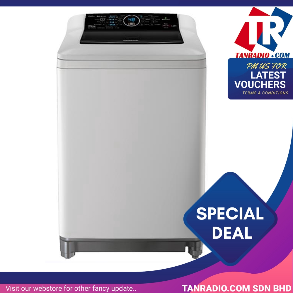 Panasonic Fully Automatic Washer Top Load Econavi NA-FS14G4HRT (14kg)