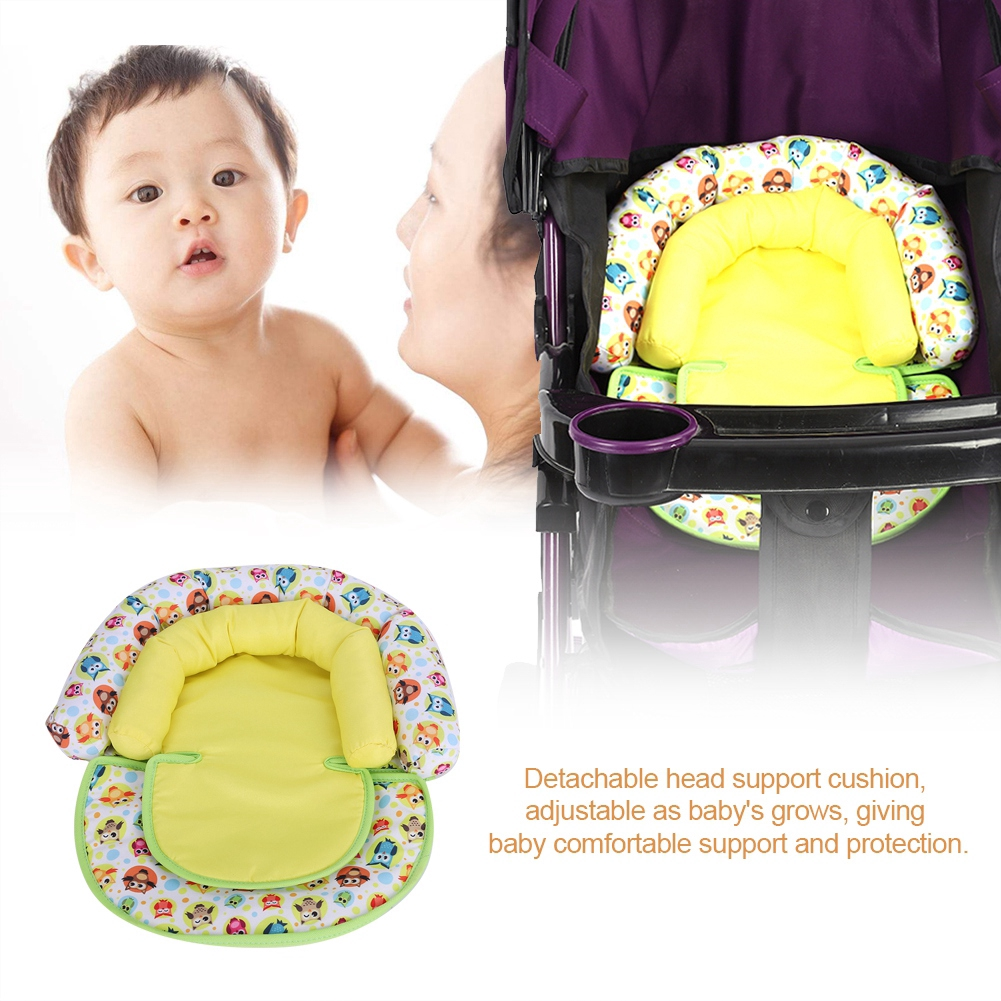 Baby Newborn Infant Car Seat Cushion Comfortable Neck And Head Dual Support