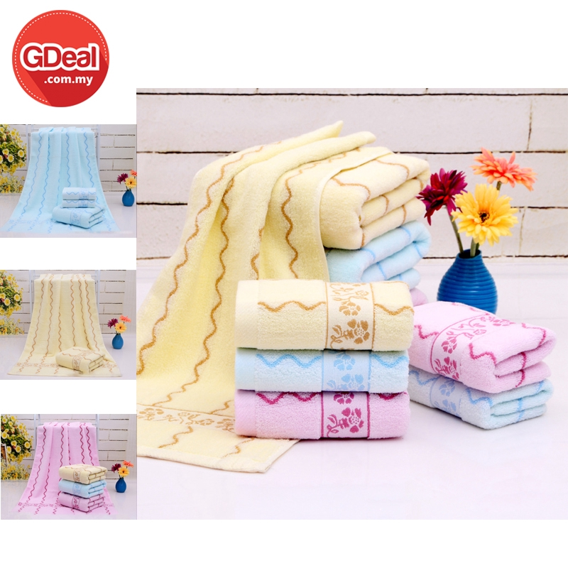 GDeal Bath Towel Quick Drying Absorbent Microfiber Gym Sports Travel  Swimwear Soft Smooth Thick Cleaning Towel