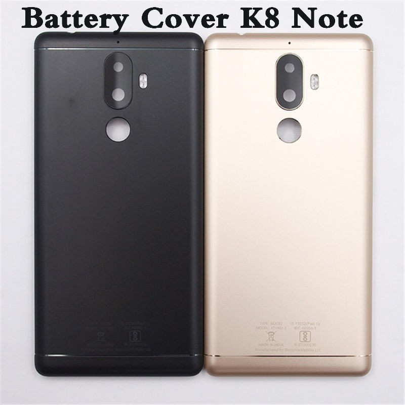 pretty nice a6983 e80fa New Battery Back Cover For Lenovo K8 NOTE Housing Case With Camera Lens  Without Power Volume Buttons