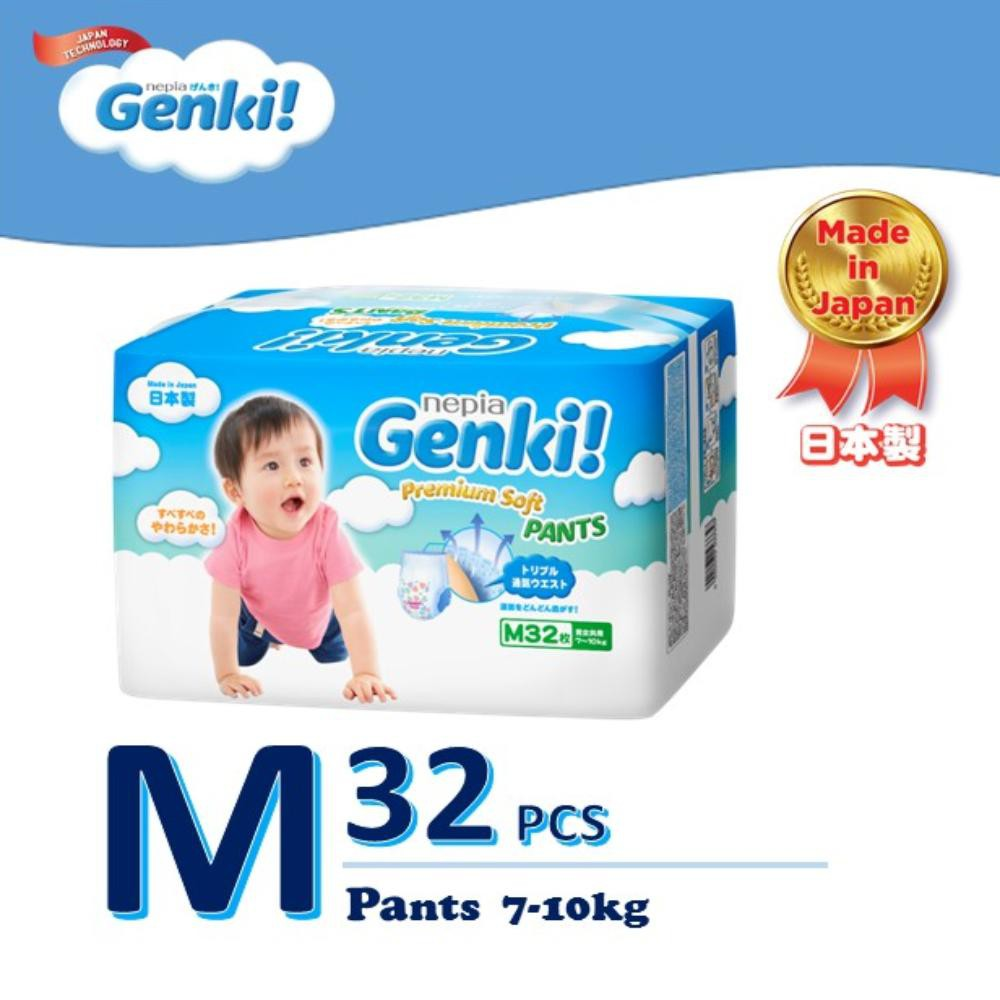 Genki! Premium Soft Pants Single Pack - M32 / L30 / XL26 / XXL18