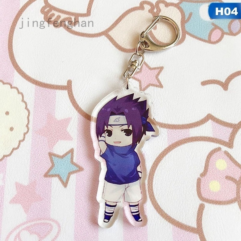 Japan Anime Naruto beauty Haruno Sakura Acrylic Key Ring Pendant Keychain Gift