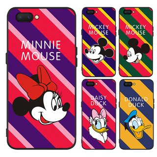 separation shoes 151c1 0706e casing for OPPO A1K A3S A7 A5S F1S F3 A77 F5 youth F7 F9 F9Pro F11 F11Pro  Realme C1 Cover Minnie Mickey Soft Case