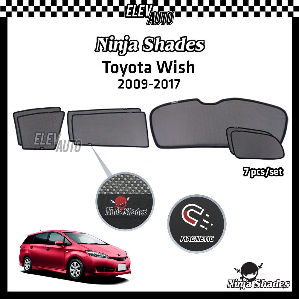 Toyota Wish (2009-2017) Ninja Shades OEM Magnetic Sushade