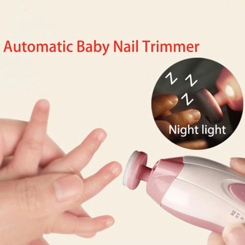 Nail Care Back To Search Resultsmother & Kids 2019 New Style Baby Electric Nail Trimmer Manicure Pedicure Clipper Cutter Scissors Safe Nail Clipper Cutter Kids Infant Babies Nail Care