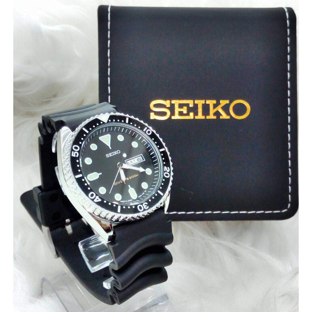 Jam Seiko 5 Green Dial Canvas Mens Watch Snk805 Shopee Malaysia Two Tone Analog Original Brand New