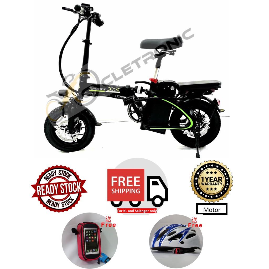 [Ready stock]Cycletronic E-Bike Foldable Series FD-3