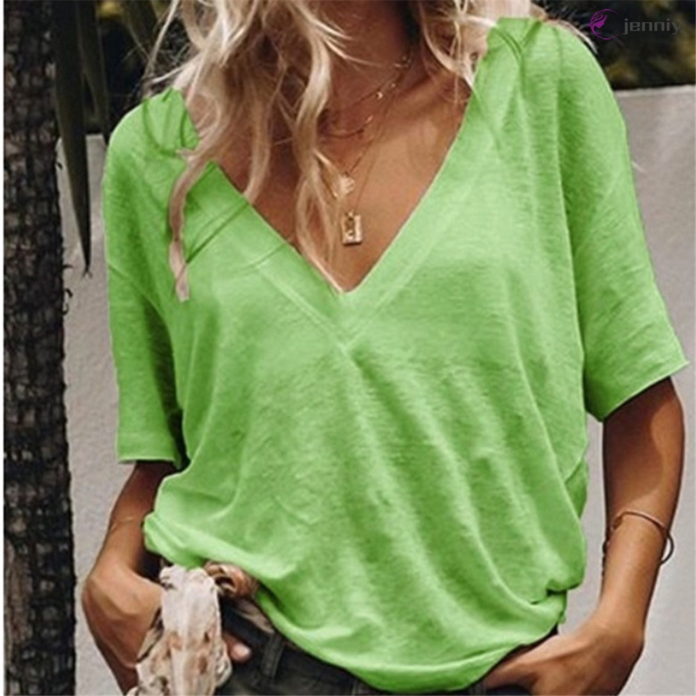 UK Womens Backless Baggy Casual Tops Ladies Batwing Sleeve Loose Blouse T Shirt
